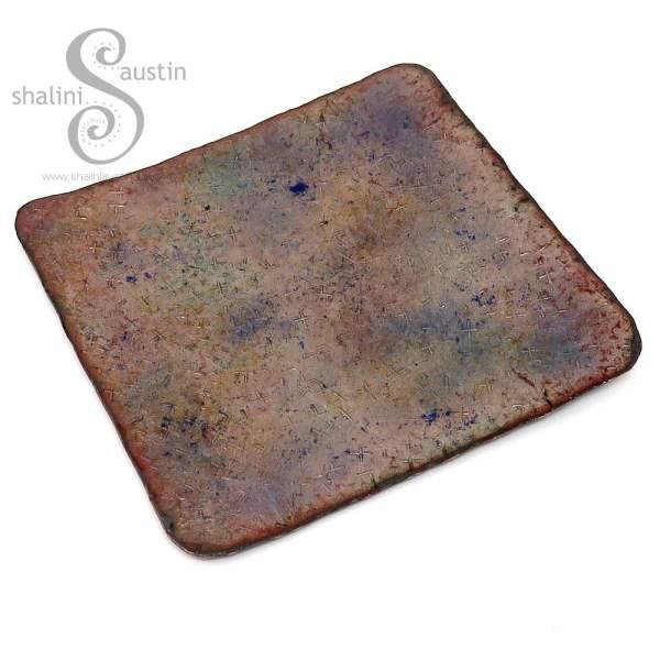 Enamelled Copper Trinket Tray (02)
