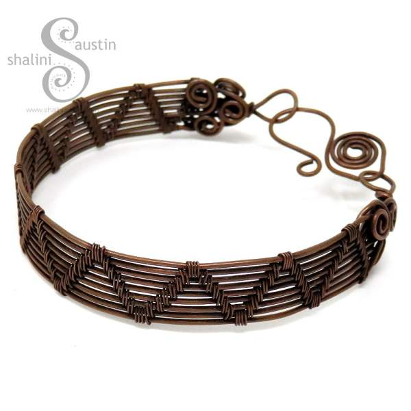 Wire Weave Bracelet SHELLY