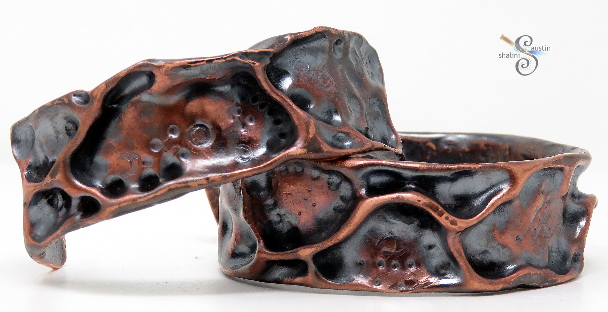 Fantasy Copper Cuffs