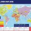 SOS travel risk map 2018