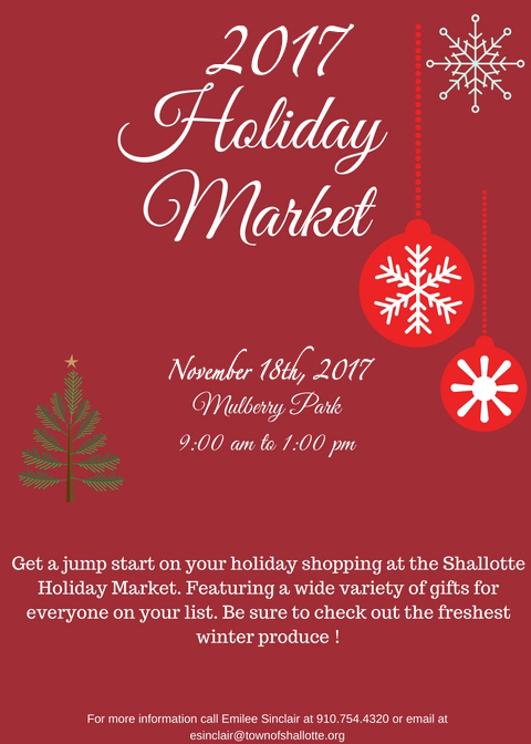 2017 Shallotte-Holiday-Market