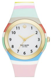 Kate Spade New York - Rumsey Plastic Strap Watch