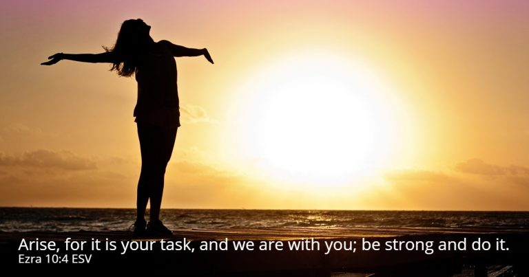 arise it is your task shalom101