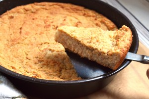 Corn(free) Bread #vegan #oilfree #grainfree #glutenfree