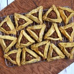 savory buckwheat hamantaschen #oilfree #grainfree #glutenfree #soyfree #nutfree #vegan #sugarfree