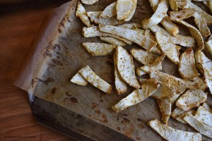 celery root fries #grainfree #glutenfree #oilfree #vegan