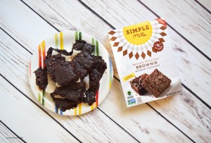 simple mills #glutenfree #vegan brownies