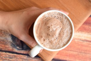 #vegan hot chocolate #sugarfree