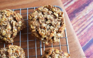 banana bread breakfast cookies #vegan #glutenfree