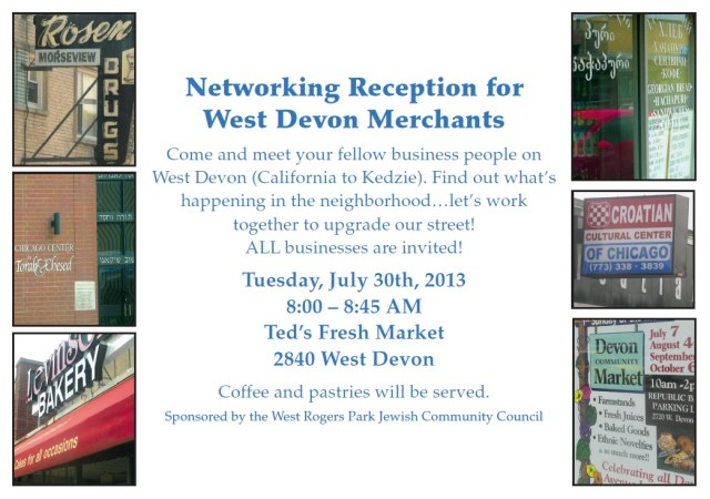 Networking Reception on Devon