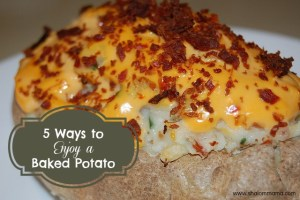 5 Ways to Enjoy a Baked Potato