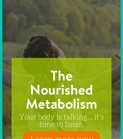 Stop Dieting and Nourish Your Metabolism