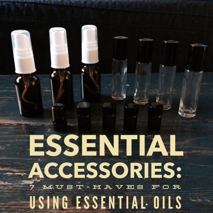 Essential Accessories: 7 Must-Haves for Using Essential Oils
