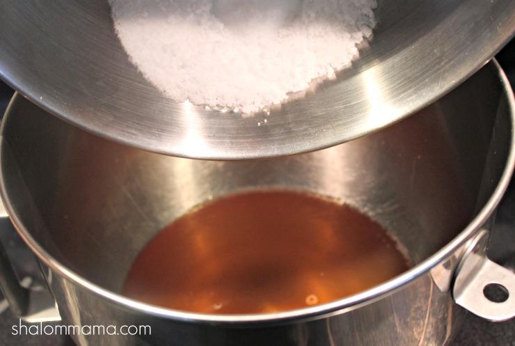 homemade bar soap step 5