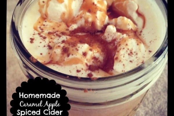 Homemade Caramel Apple Spiced Cider