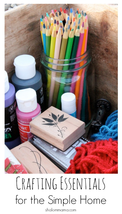 Crafting Essentials for the Simple Home