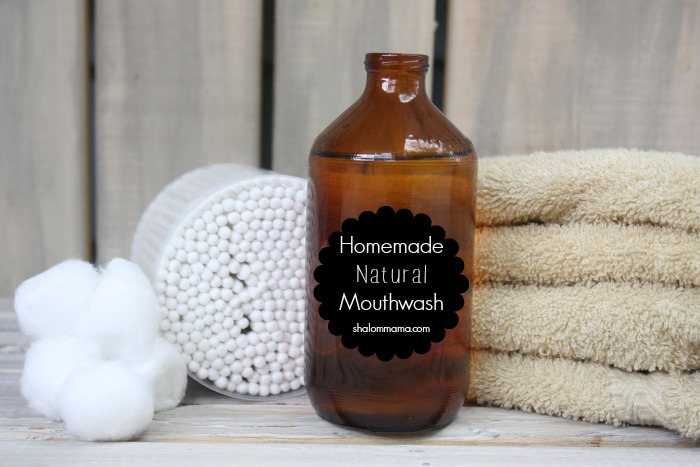 Homemade Natural Mouthwash | a super easy recipe using non-toxic ingredients