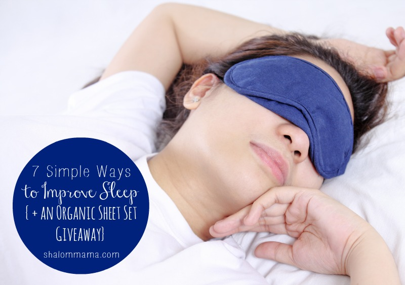 7 Simple Ways to Improve Sleep