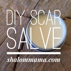DIY Scar Salve