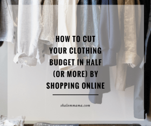 How to cut your clothing budget in half (or more) by shopping online