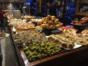 Tapas in San Sebastian, Spain
