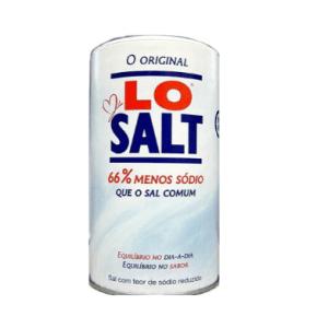 menos 66% de sódio que o sal comum