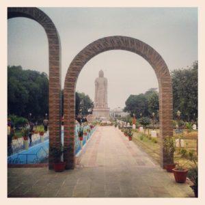Sarnath-Buddha-Statue-and-Sanchi-Stupa