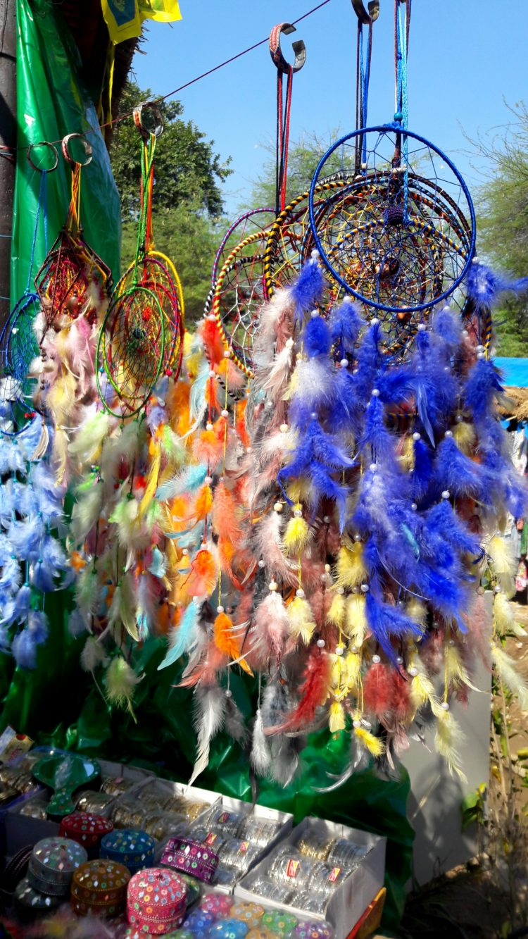Dreamcatcher-surajkund-mela-dreams-blessings-feathers-charms-stones-beads-spider