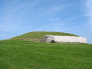 Newgrange is a massive Stone Age structure that aligns with certain astronomical events