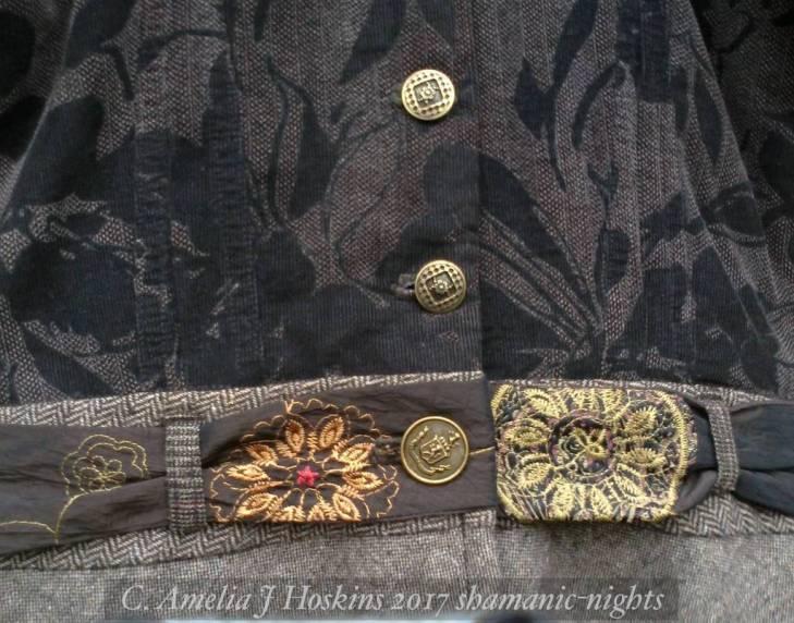 Taffeta Belt close up