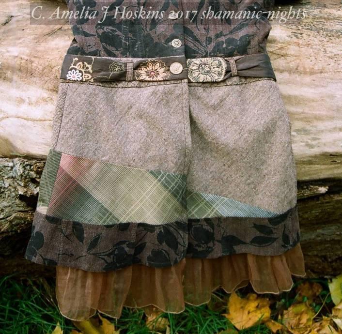 Skirt and belt