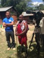We film a segment about biogas
