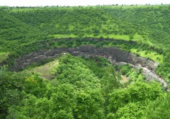 Пещерный комплекс Аджанта.