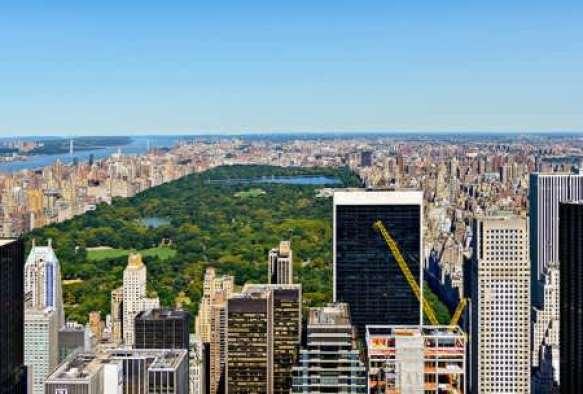 Центральный парк Нью-Йорка.