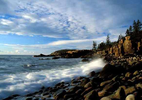 Штат Мэн, океанское побережье.