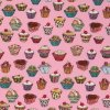 (Michael Miller) Whimsical, Cupcakes in Pink