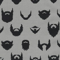 ACY-15021-12 GREY - (Caleb Gray) Brilliant Beards, Brilliant Beards In Grey
