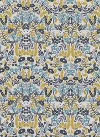 8031-3 - (Rifle Paper Co) Menagerie, Tapestry in Natural Metallic