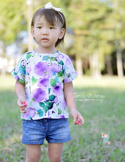 Mika Top – PDF Pattern (by Haurra Sewing)