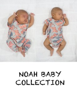 Noah Baby Collection – PDF Pattern (by Haurra Sewing)