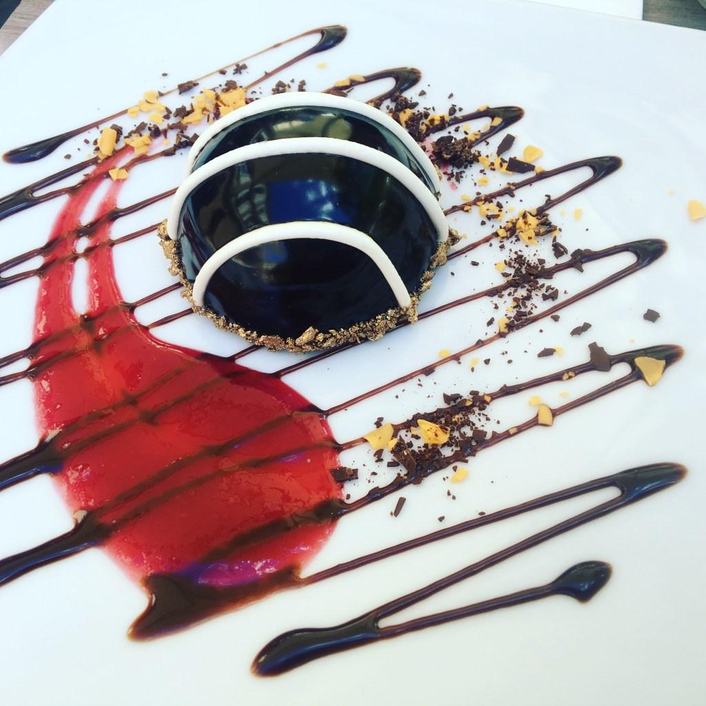 a sweet dessert