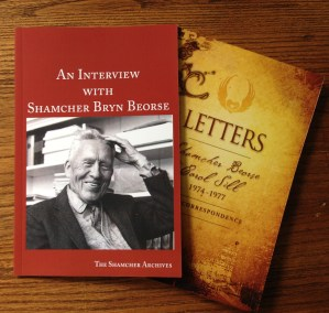 Interview with Shamcher Bryn Beorse and Letters: Shamcher Beorse and Carol Sill