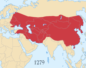 Mongol Empire: 1279