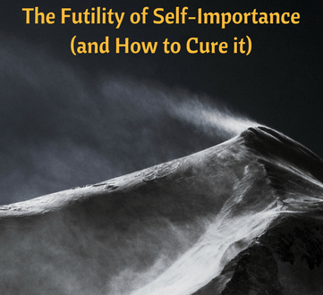 The Futility of Self-Importance (and How to Cure it)
