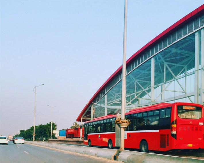The One with the Red Bus