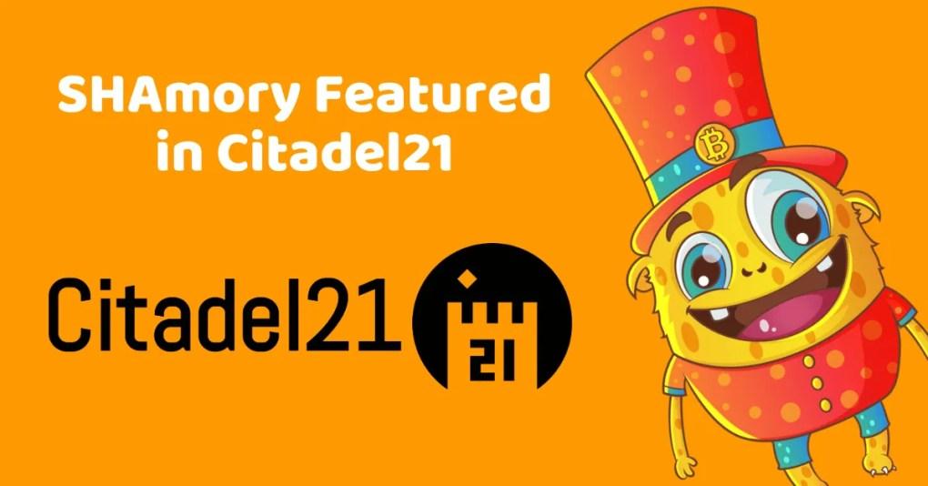 SHAmory in Citadel21