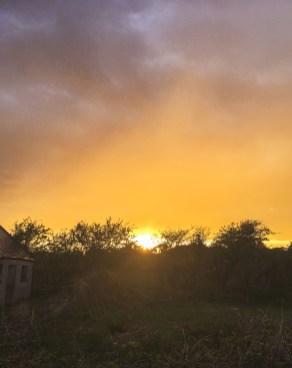 Das magische Sonnenlicht gegenüber vom Regenbogen   The magical sunlight opposite to the rainbow