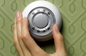 Turning up the thermostat before leaving for summer vacation can save you money