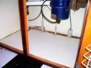 under sink