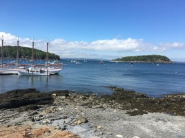 boats in bay